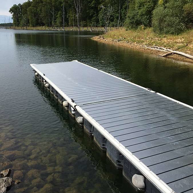 New Boat Ramp Dock | Merrill Creek Reservoir