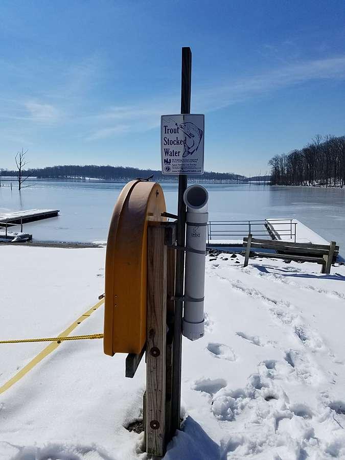 Reducing Fishing Line Litter -Merrill Creek